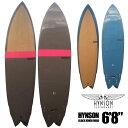 【海に行こう!ポイントアップ8/9/1:59まで】HYNSON SURFBOARDS BLACK KNIGHT QUAD 6'8 ヒンソン ブラックナイト クアッド 4フィン ダブ…
