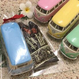 【土日祝も毎日発送】 ダイキャストミニカー 1962 VW クラシカルバス パステル×チョコバーセット クリスマスギフト バレンタインギフト プレゼント 誕生日 メンズ 子供