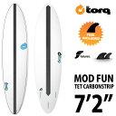 "TORQ Surfboard TET CABON STRIP MOD FUN 7'2""◆トルクサーフボード エポキシ ファンボード【送料無料】"