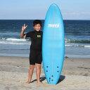"""【平日13時までのご注文は当日発送】 サーフボード ソフトボード おすすめ ハッピー ソフトサーフボード 6'0"""" HAPPY SOFT SURFBOARD サ…"""