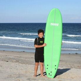 【クーポン発行!最大P29倍7/11迄】 ソフトボード サーフボード ソフトサーフボード ハッピーソフトボード 初心者 サーフィン 子供 大人 女性 男性 7'0 HAPPY SOFT SURFBOARD サーフィン キッズ 人気商品