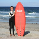 【P最大31倍7/26迄】 ソフトサーフボード サーフボード キッズ 5'5 子供 ハッピー ソフトボード ファンボード HAPPY SOFT SURFBOARD 初…