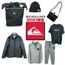 【予約販売】福袋 2021 クイックシルバー メンズウェア QUIKSILVER HAPPY BAG 中綿ジャケット スウェット パンツ ニットキャップ ビー…