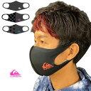 【12/1ワンダフルデー最大P23倍】 【予約販売12月上旬入荷予定】 洗えるマスク QUIKSILVER クイックシルバー 速乾ファッションマスク …