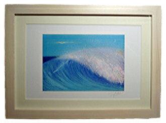 有HOLY BLUE冬青樹藍色繪畫yumenonakade堀內朗繪畫數額的繪畫插圖室內裝飾