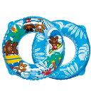 【予告12/10エントリーでポイント最大42倍!!】 くまさんビーチウキワ 55cm お子様用浮き輪 RGP-255 水遊びグッズ 浮き袋