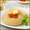 【ライ麦パンケーキと燻製バターセット】 お中元 北海道産ライ麦 甘さ控えめ 燻製バター メープル入りシロップ 冷凍