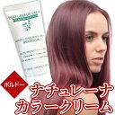 白髪染め 女性用 男性用 全体 部分 へナカラー ヘアカラーリングクリーム ボルドー 落ち着きのある赤 天然成分配合 ラ…