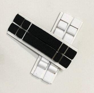 臂章白色和黑色一種尺寸適合多數燕尾服的手臂樂隊 スーツアーム 樂隊喚醒手臂帶至確定 ! 要調整這件襯衫 !