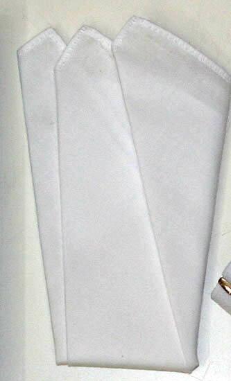 ポケットチーフ(ハンカチ)綿 ★」送料100円★ 3っ折ハンカチ フォーマル ハンカチーフ 【円高還元YDKG-kd】