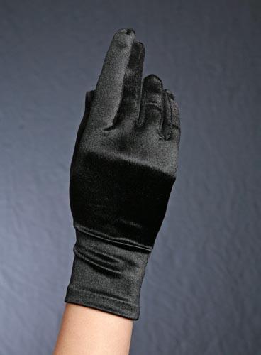 ★送料無料★ 【ウエディング グローブ】 ★サテン手袋★ 【サテンショート グローブ】 ショート ブラック【黒 ショート】 全6カラー ブライダル、パーティー、イベントにオススメ!G-18S 【円高還元YDKG-kd】【smtb-KD】