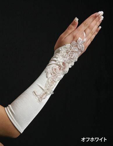 【ウエディング グローブ】★送料無料★【フィンガーレスグローブ】【フィンガーレス手袋】 サテン(グローブ)、ネイル手袋、ガントレット、指なし手袋、サテン 手袋、サテング ローブ、ブライダル、結婚式、コスプレ、指無し 手袋、指無しm-03【smtb-KD】