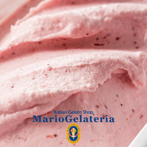 マリオジェラテリア【苺ミルク】2000ml ジェラート 業務用 アイス 業務用ジェラート イタリアンジェラート イチゴミルク いちごミルク いちご いちごアイス 苺アイス イチゴアイス 業務