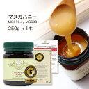 マヌカハニー MGS16+ (MG600) 250g 【送料無料】生 はちみつ 非加熱 無添加 マヌカはちみつ 純粋はちみつ 蜂蜜 ハチミ…