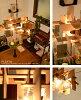 像支持日式照明吊墜燈照明漂亮的設計師日式摩登木材陰影LED的現代的北歐風餐廳和式房間卧室客廳安慰重新流行東南亞風格咖啡廳一樣的拉開關點燈轉換簡單裝設天花板照明吸頂燈(5-10)