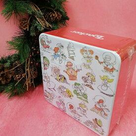 *送料込* クリスマス ローカー ザベストオブキャラクターズ缶 307.5g 数量限定