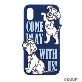 スマホケース ディズニー Disny 101 犬 ダルメシアン iPhoneケース アイフォンケース シリコン シリコンケース アイフォンケース iPhoneX/XS