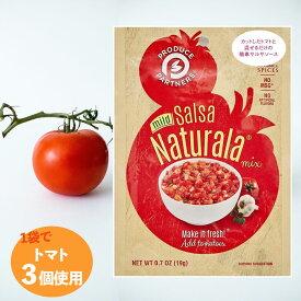 【クリックポスト対応 送料込み】 トマトディップソース プロデュースパートナー サルサナチュラーラ (19gx3袋) 混ぜるだけ ディップ トマトサルサメーカー トマト消費 家庭料理 おかずに便利 送料無料