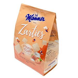 マナー ストロベリーヨーグルトウエハース ( ストロベリーヨーグルト 200g ) ウエハース オーストリア お菓子 おやつ お茶菓子 プレゼント ギフト スイーツ 送料込み 輸入菓子