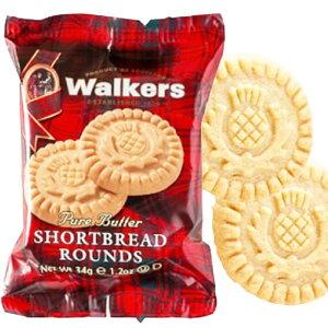 【一部地域を除く 送料無料】 ウォーカー ショートブレッド ラウンド (34gx12袋) 1ケース クッキー ビスケット ピュアバター お菓子 スコットランド 人気 お菓子 おやつ 小分け 個包装 持ち