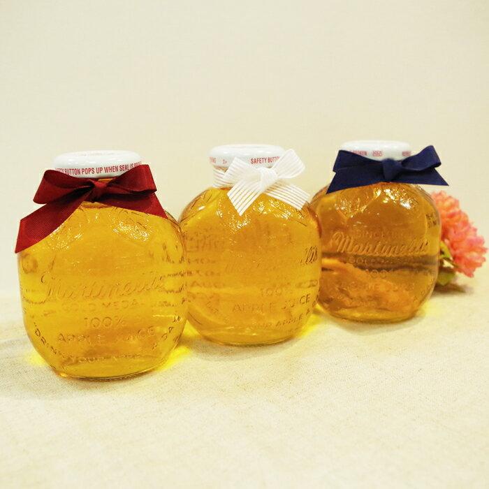 マルティネリ アップルジュース リンゴジュース 1本【 プチギフト プレゼント にオススメ】 コストコ ワンポイント リボン付き
