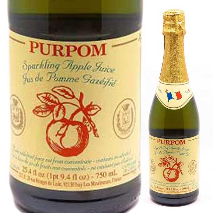 ノンアルコール スパークリング アップルジュース ピュアポム アップルジュース(750ml)