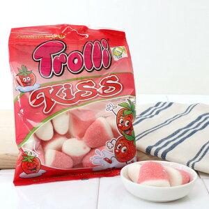 トローリ 【Trolli】 ストロベリーキス グミ キャンディ 子供向けおやつ
