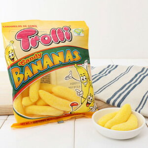 トローリ 【Trolli】 キャンディバナナ グミ キャンディ 子供向けおやつ
