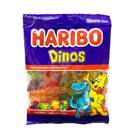 ハリボー グミ 【HARIBO】 ハリボー ダイナソー 200g 人気 おやつ お菓子 こども 子供 歯の健康