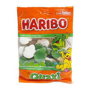 ハロウィン人気! ハリボー グミ HARIBO カエルのカタチのグミ アップル味 りんご味 カエル ハリボーグミ 【HARIBO】 フロッグ 200g グミマニア