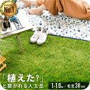 ◆1/26まで 7980円◆ 【送料無料】人工芝 リアル人工芝 幅1m×長さ10m 芝丈38mm 密度1.9倍 ロール 庭 ガーデニング ガ…