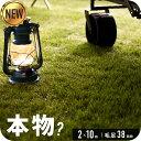 ◆1/26まで 18700円◆ 【送料無料】人工芝 リアル人工芝 幅2m×長さ10m 芝丈38mm 密度1.9倍 ロール 庭 ガーデニング …