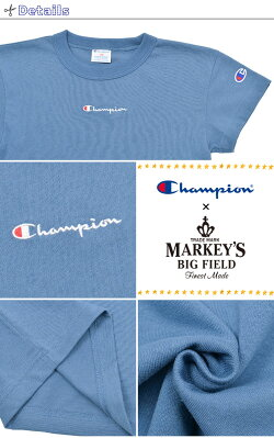 【Champion】【BIGFIELD】Champion×BIGFIELDWIDETEE[100-140cm]
