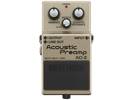 BOSS Acoustic Preamp AD-2(新品)【送料無料】