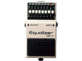 BOSS Equalizer GE-7 グラフィックイコライザー コンパクトエフェクター(新品)【送料無料】