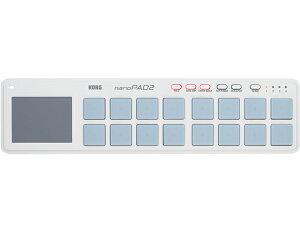 【即納可能】KORG nanoPAD2 WH(新品)【送料無料】