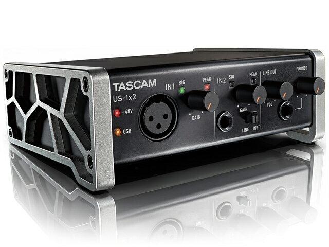 【即納可能】TASCAM US-1x2 [US-1X2-CU](新品)【送料無料】