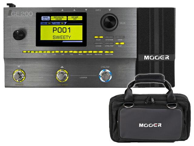 【即納可能】Mooer GE200 + 純正ソフトケース SC-200 セット(新品)【送料無料】