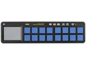 【即納可能】KORG nanoPAD2 BLYL ブルー&イエロー(新品)【送料無料】