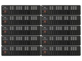 【まとめ買い】KORG nanoKEY2 BK ブラック 10個セット(新品)【送料無料】