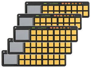 【まとめ買い】KORG nanoPAD2 ORGR オレンジ&グリーン 5個セット(新品)【送料無料】
