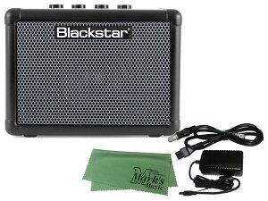 Blackstar FLY 3 BASS + 純正ACアダプター FLY-PSU + マークスミュージック オリジナルクロス セット(新品)【送料無料】