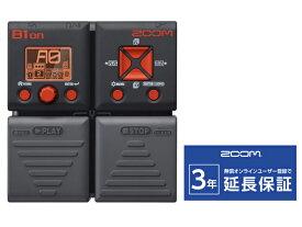 ZOOM B1on(新品)【送料無料】