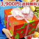 【あす楽】【送料無料3,900円】オリジナルボックスフルーツセット(ポピー)(メロンなし)[誕生日][お誕生日][プレゼント…