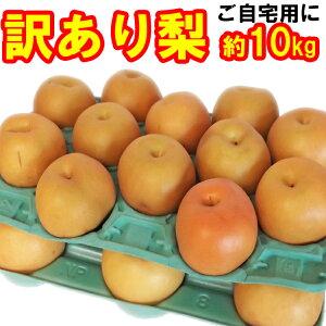 [訳あり]和梨12〜40玉入 (約10kg) [送料無料]味は秀品同様、みずみずしくジューシーな梨!日本一大産地「茨城」より発送!ご家庭用にどうぞ。[幸水] [豊水] [あきづき] [新高] [にっこり][新興][
