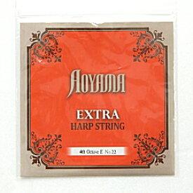ハープ弦 アオヤマ (AOYAMA/青山)4オクターブEガット弦