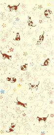 手ぬぐい[気音間] さくら猫 手ぬぐい(手拭い)・風呂敷(ふろしき)・扇子専門店