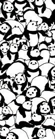 手ぬぐい[気音間] ぱんだだらけ手ぬぐい(手拭い)・風呂敷(ふろしき)・扇子専門店
