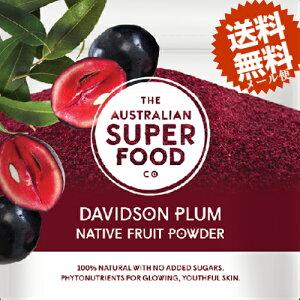 【メール便で送料無料】無添加♪無農薬栽培♪デビッドソンプラム(30g)乾燥果実のパウダー♪100%ナチュラル♪スーパーフード★抗酸化作用!食物繊維!スムージーやヨーグルトに♪お料