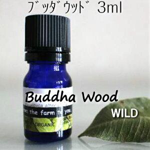 ブッダウッド精油 3ml♪【メール便】自然♪♪100%ピュア エッセンシャルオイル♪香ばしい木の香り♪♪高級♪貴重♪心が落ち着く静かな香り♪リラックス♪免疫系への働きかけ♪アロマオ